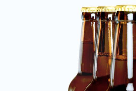 cerveza negra: Botella de cerveza.