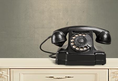 old fashioned: Telephone.