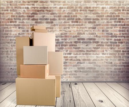 ボックス。 写真素材