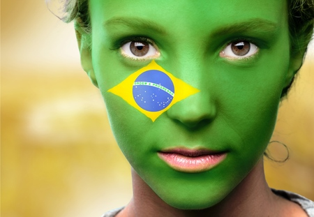 brazilian flag: Brazil.