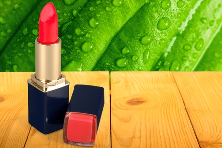 descriptive colors: Lipstick. Stock Photo