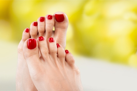 pamper: Feet.