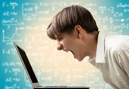 technophobe: Computer.