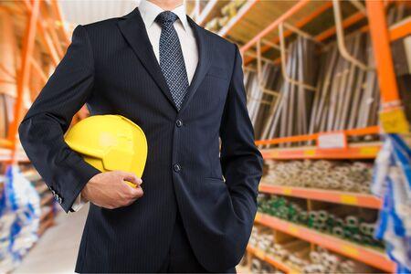 job security: Glove. Stock Photo