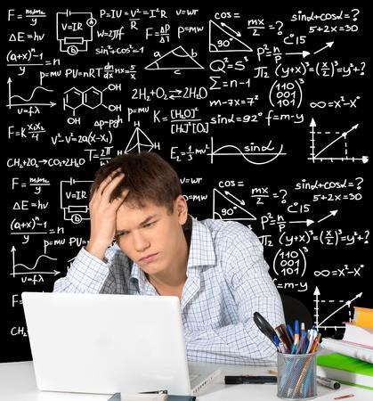 Algebra. Stock Photo