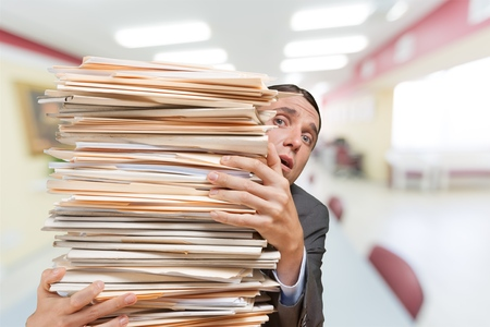 technophobe: Paper.