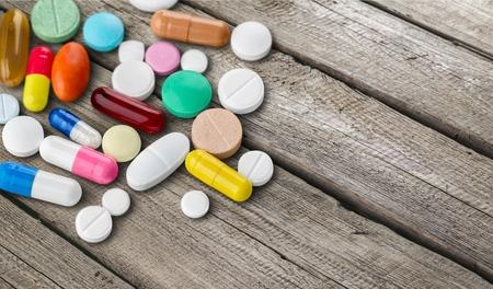 Léky. Reklamní fotografie