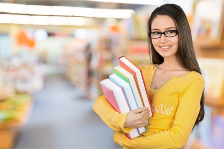 student studying: Student. Stock Photo