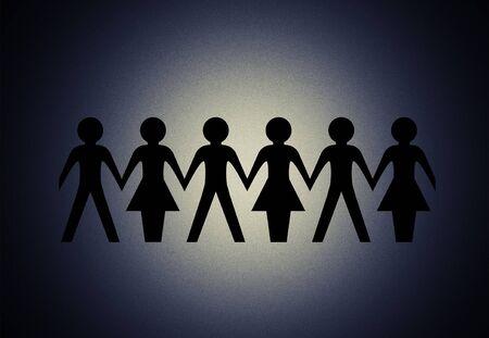 Equality. Stock Photo