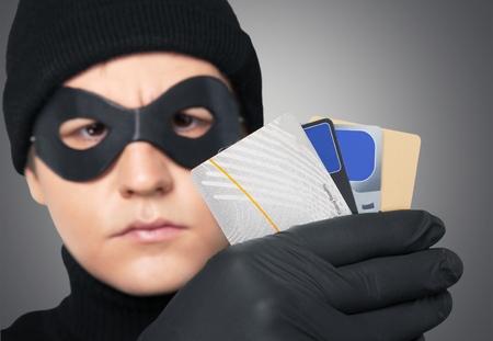 stolen identity: Thief.