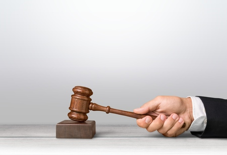 subpoena: Judge. Stock Photo