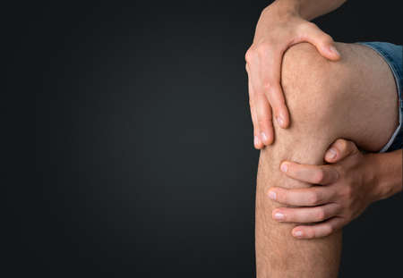 human knee: Human Knee. Stock Photo