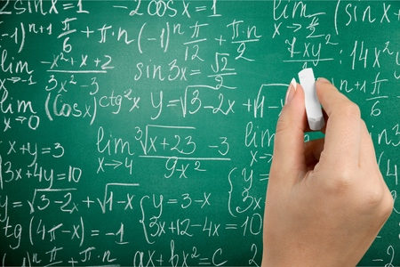 graph theory: Physics. Stock Photo