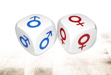 heterosexuality: Gender Symbol.