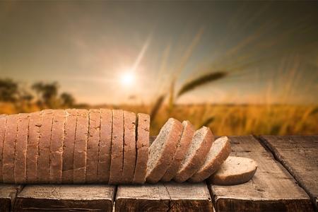 alimentary: Bread. Stock Photo