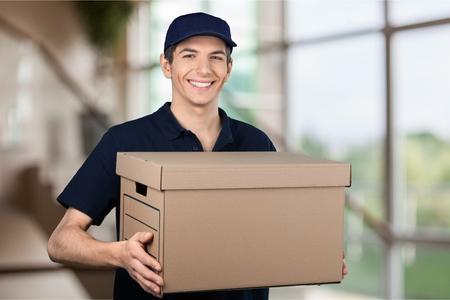 social grace: Delivering. Stock Photo