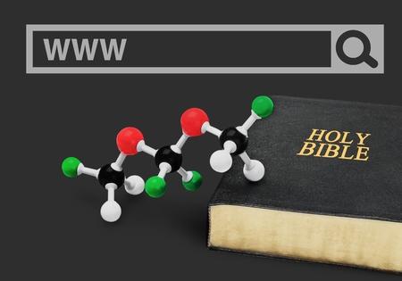 origins: Science. Stock Photo