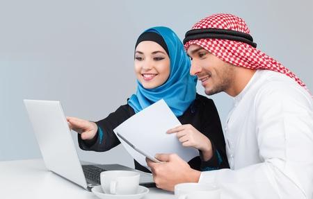 arabic man: Arab.