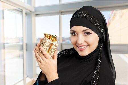 e reading: Saudi. Stock Photo
