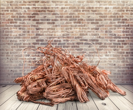 Scrap Metal. Stock Photo