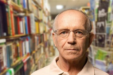 grumpy old man: Senior Adult.