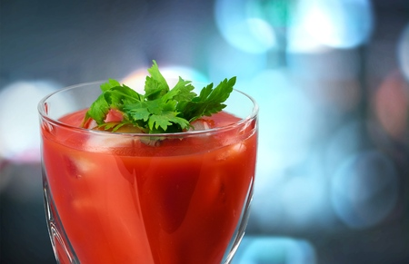 alcohol series: Bloody Mary.