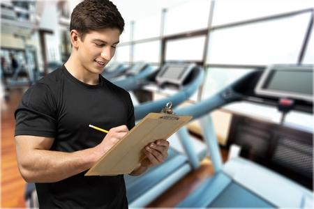 instructor: Instructor. Stock Photo