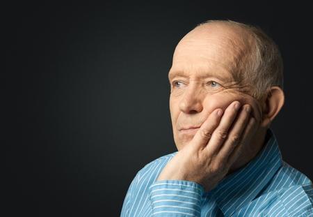 elderly man: Senior Adult.