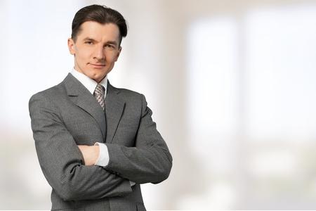 40 45 years: Businessman. Stock Photo