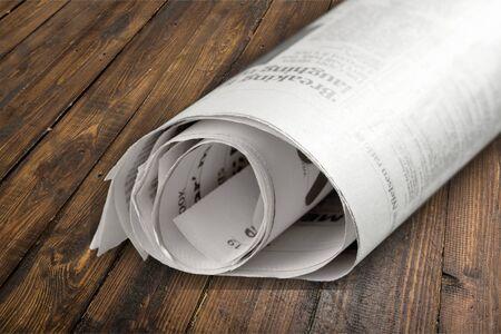information medium: Newspaper. Stock Photo