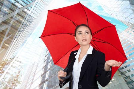 job security: Umbrella.
