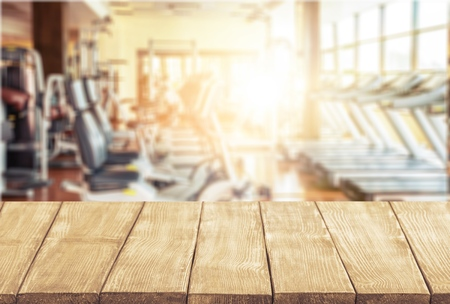health club: Gym.