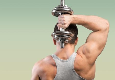 tricep: Gym.