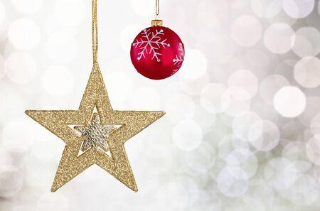 christmas star: Christmas.
