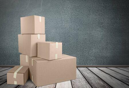box: Box. Stock Photo