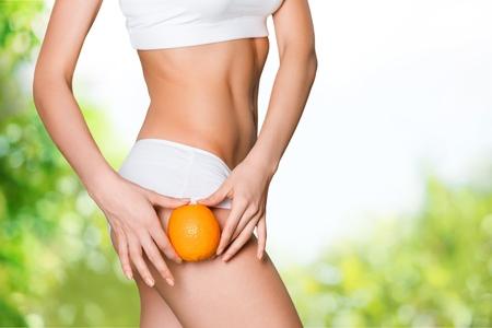 Celulitida. Reklamní fotografie