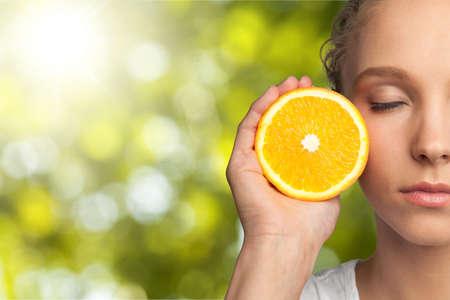 fruit orange: Fruta.