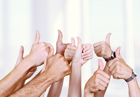Thumbs Up. Stock Photo - 55044445