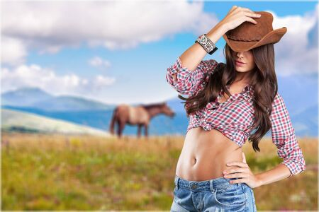rodeo cowgirl: Rodeo.