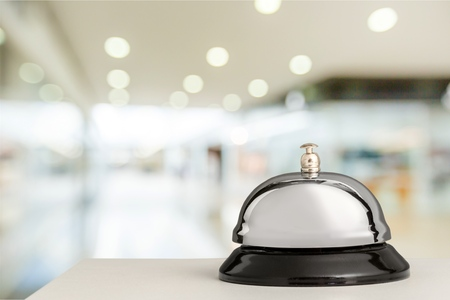 Hotel bel. Stockfoto