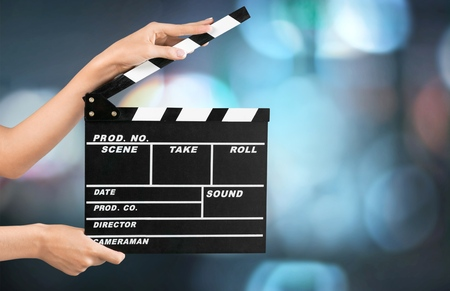 information medium: Film Slate.