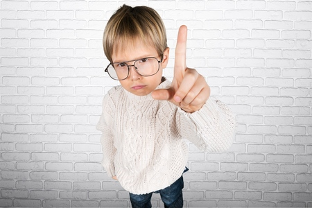 crafty: Kid. Stock Photo