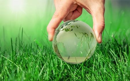 green world: Earth.