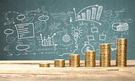 business money: Money. Stock Photo
