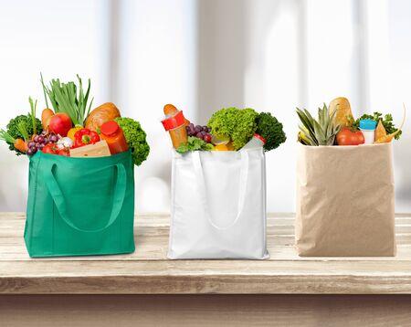 reusable: Bag. Stock Photo