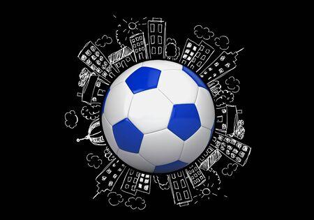 soccer: Soccer. Stock Photo