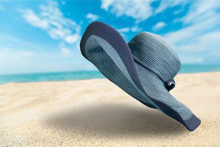 sun hat: Sun Hat. Stock Photo