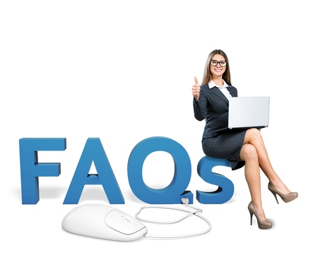 Faq. Stock Photo