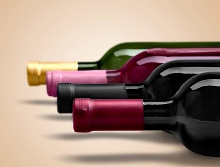 Botella de vino.