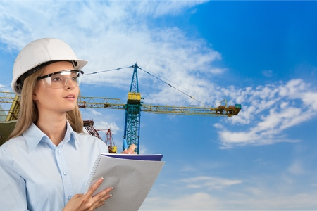 engineering clipboard: Engineer. Stock Photo
